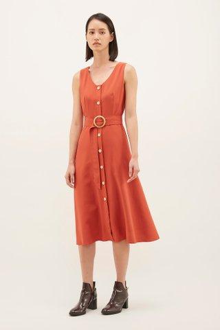 Maryn Button-through Dress