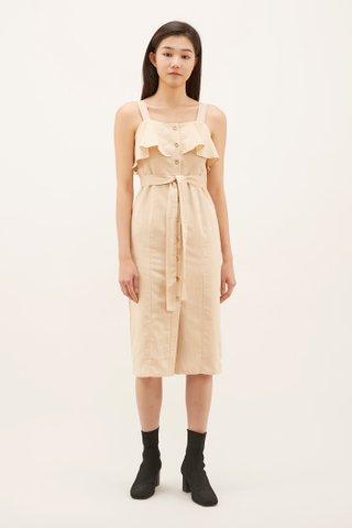 Yamila Front Flap Dress