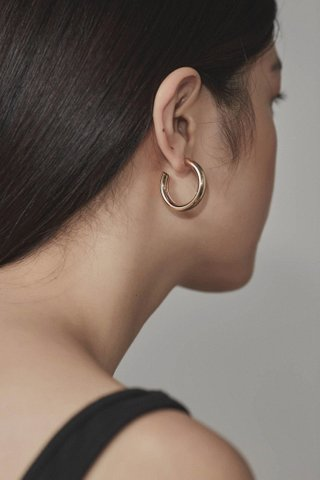 Lisa Open Hoop Earrings