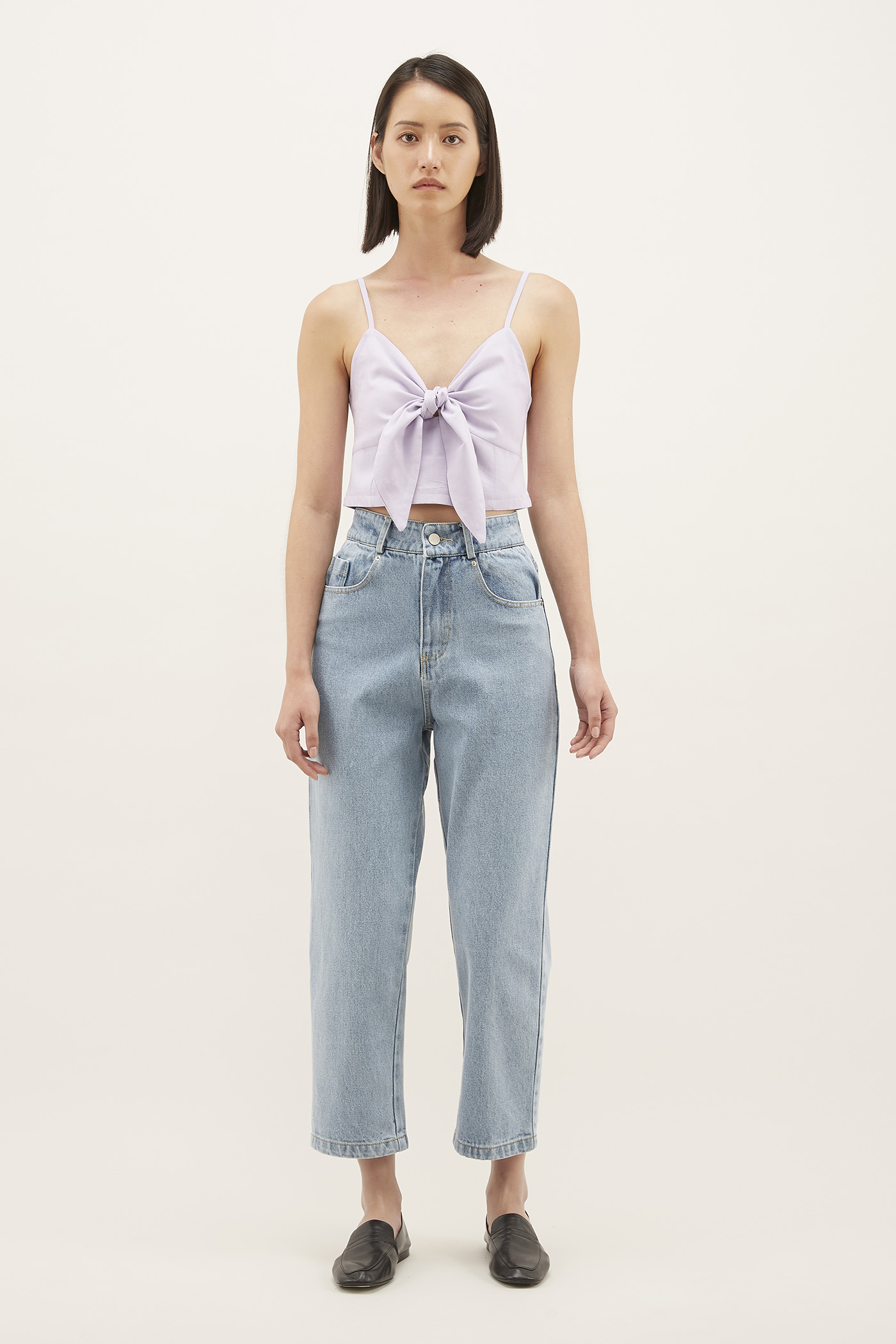 Kalee Front-knot Crop Top