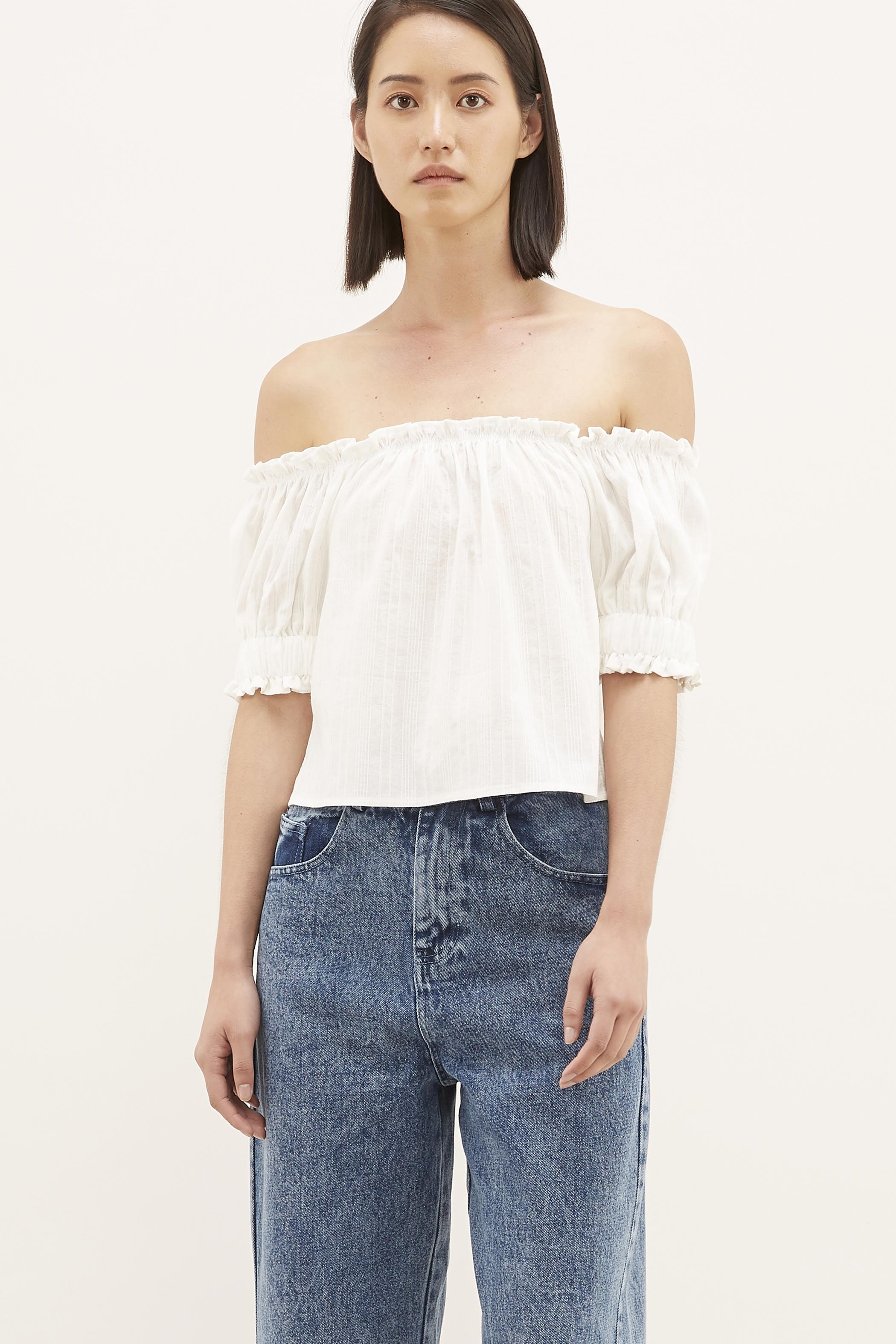 Jalicia Off-shoulder Blouse