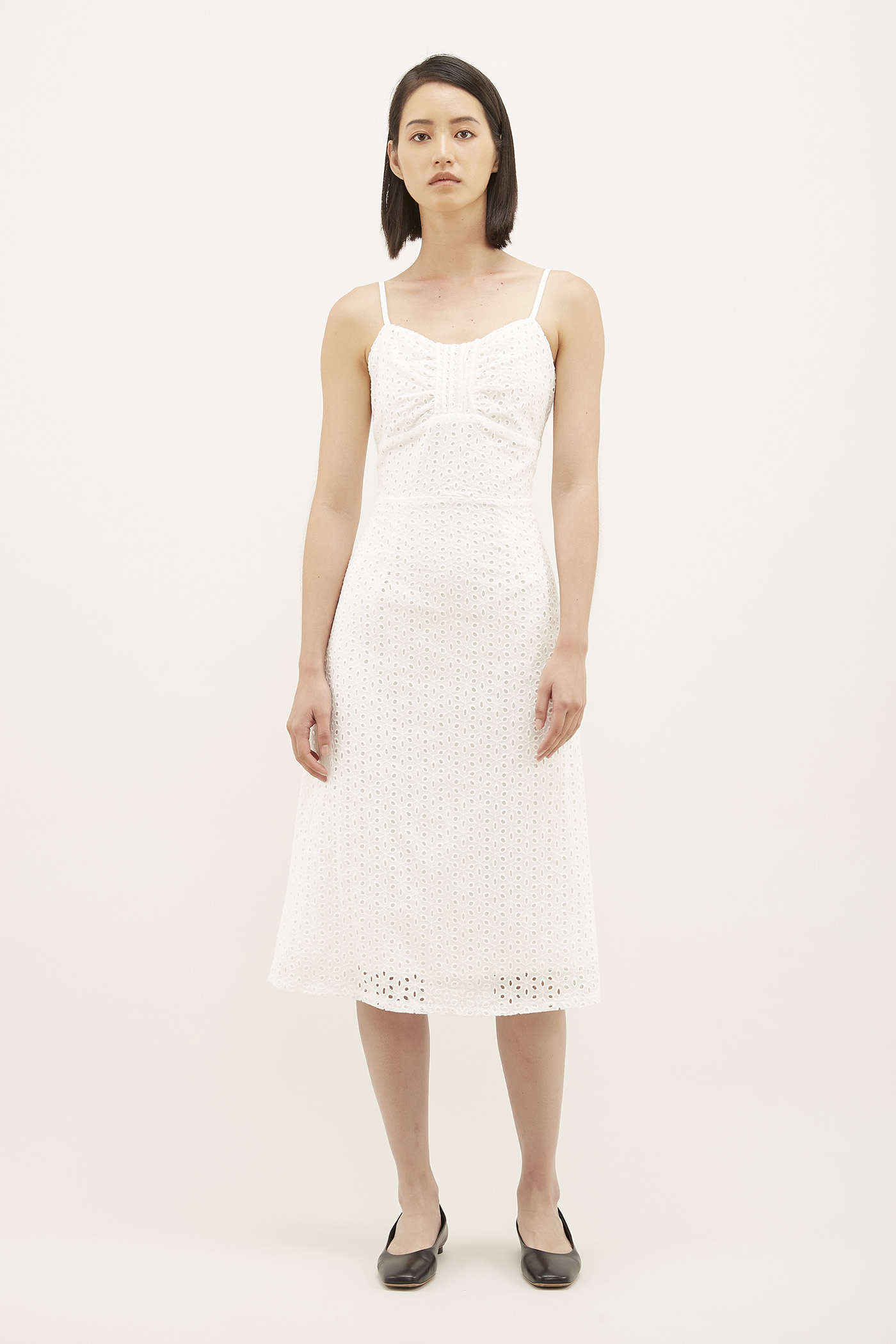Shailyn Broderie Anglaise Dress