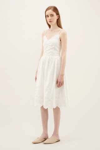 Myesha Broderie Midi Dress