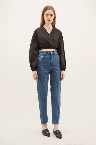 Jarica Cross-front Crop Top
