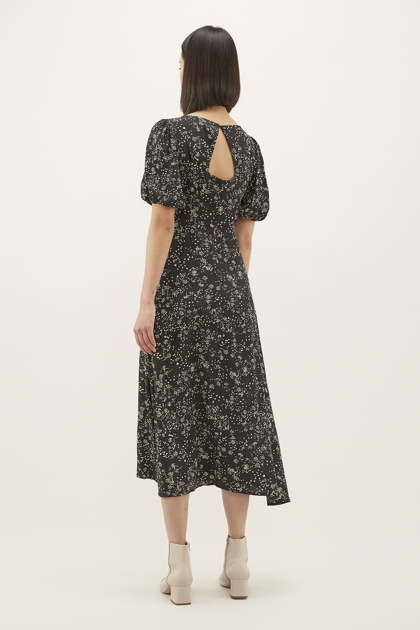 Tressa Cross-front Maxi Dress