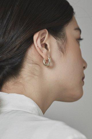Bena Hoop Earrings