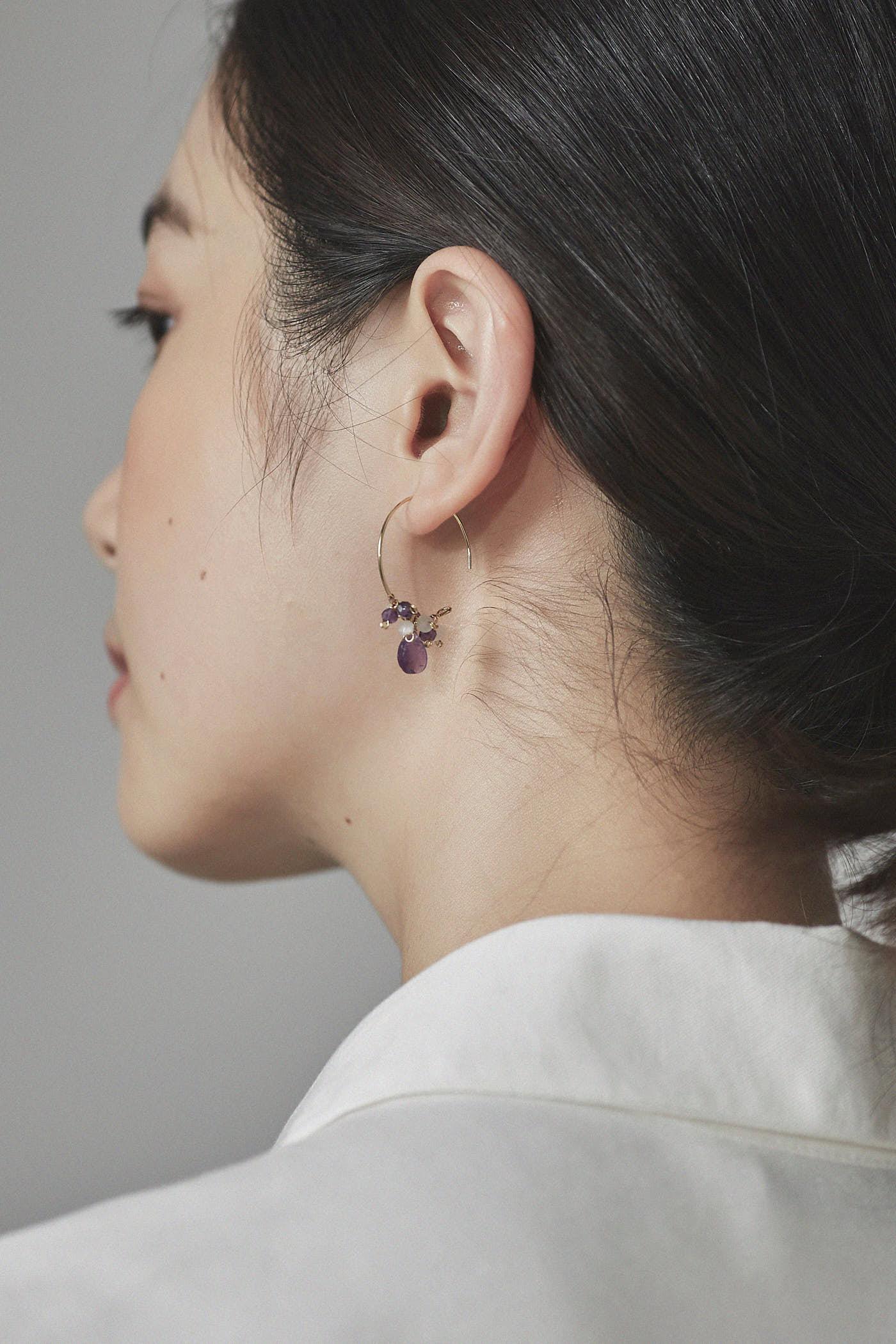 Shanel Hoop Earrings