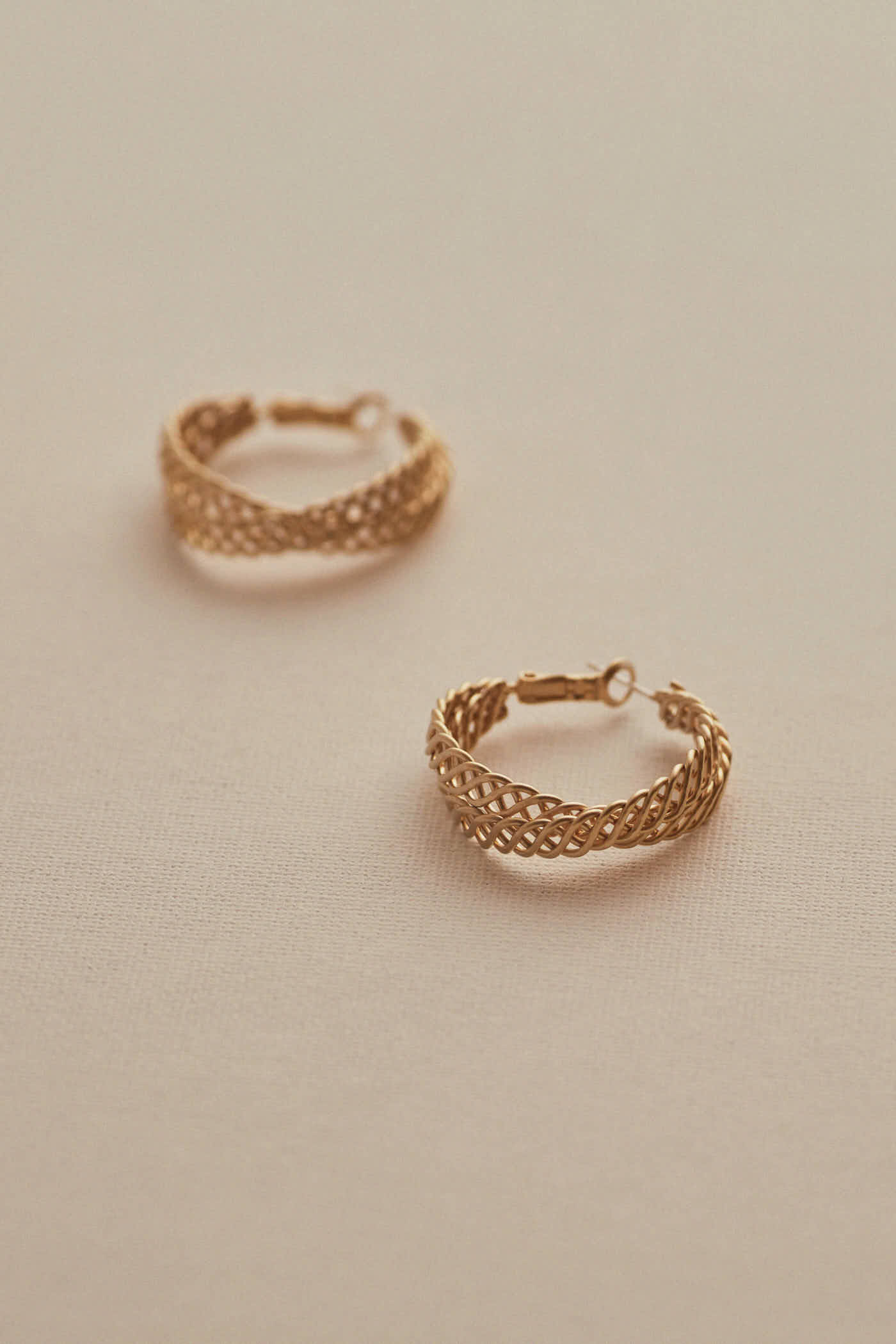 Brett Hoop Earrings