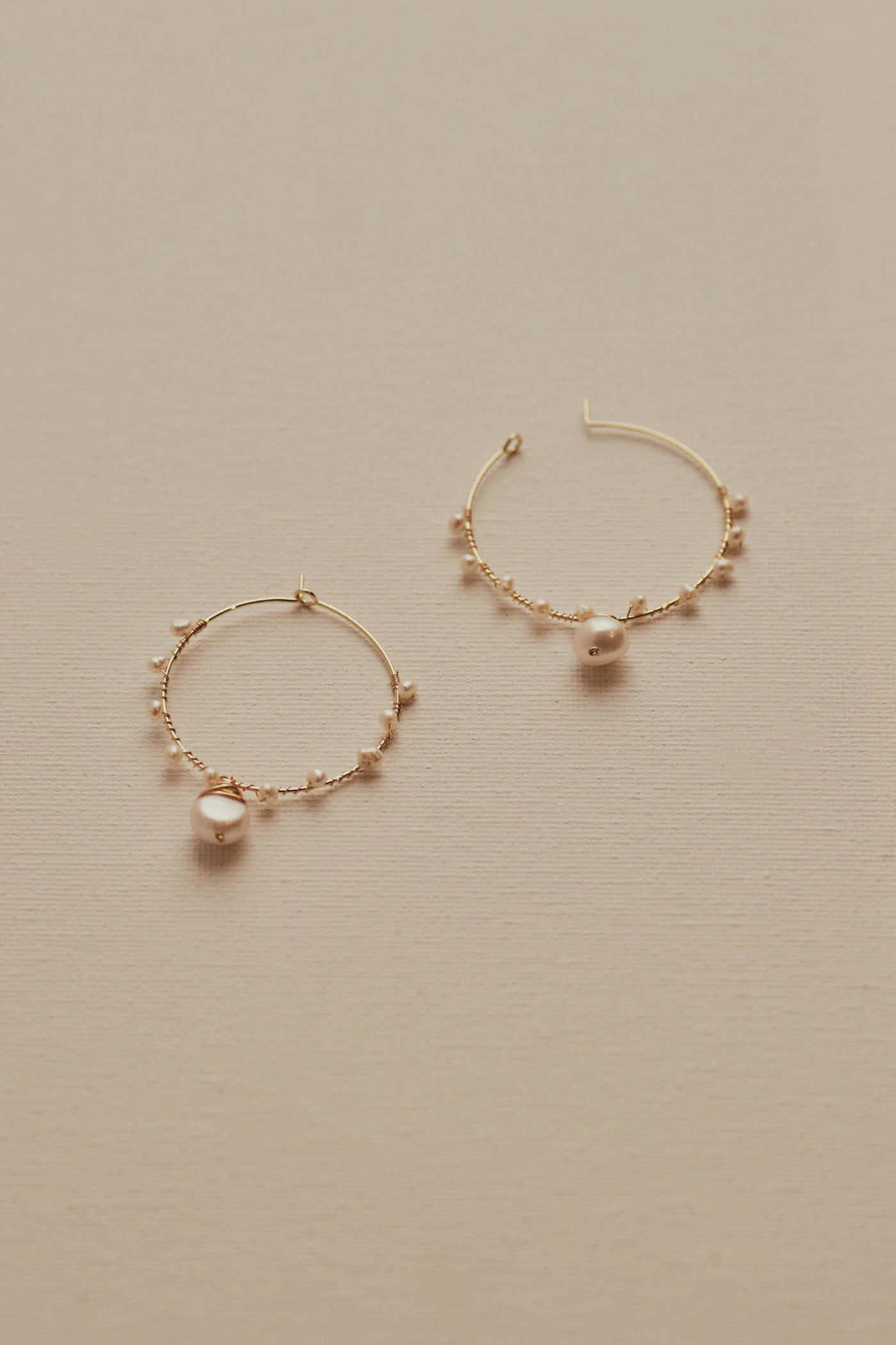 Chael Hoop Earring