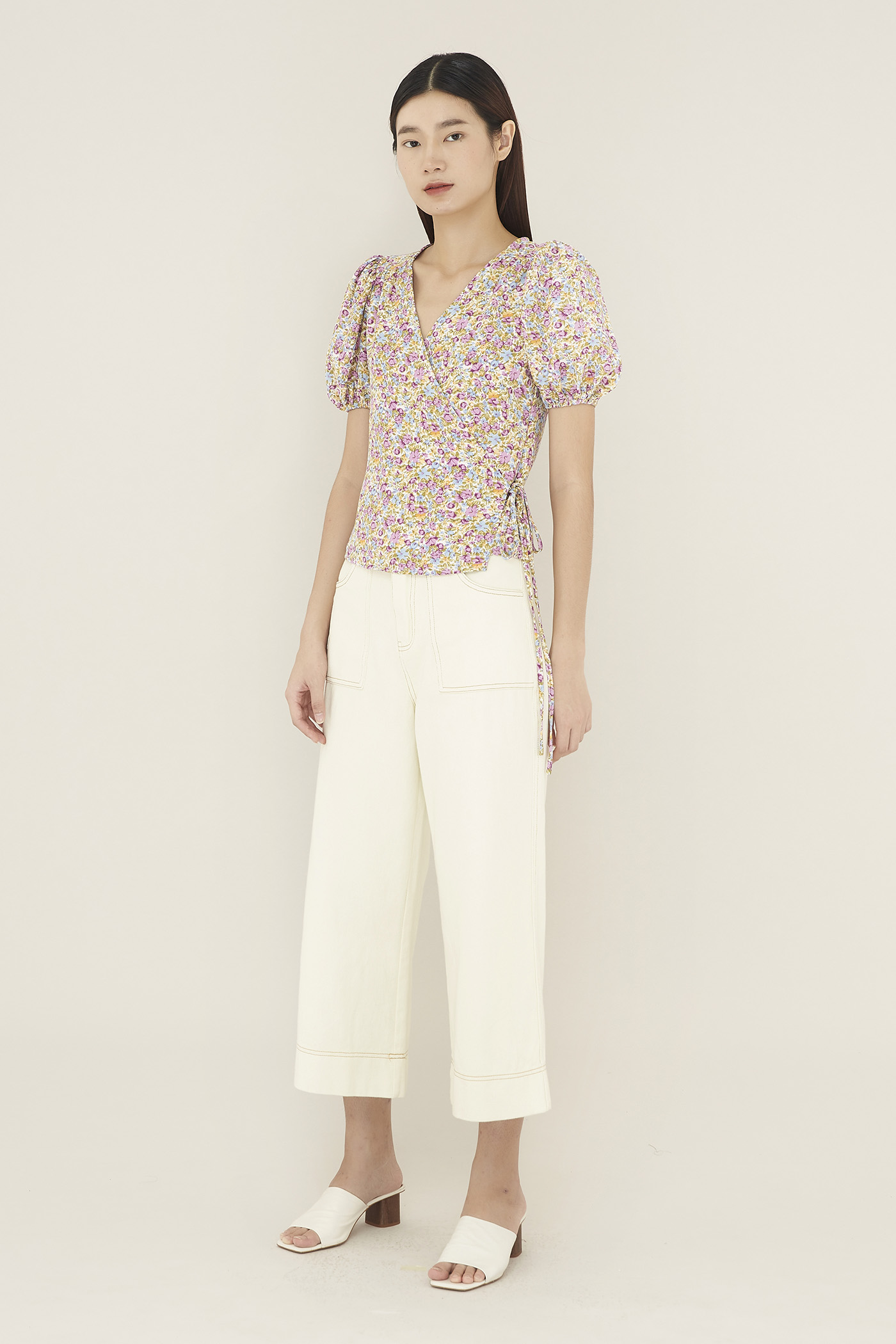Dalina Wrap Blouse