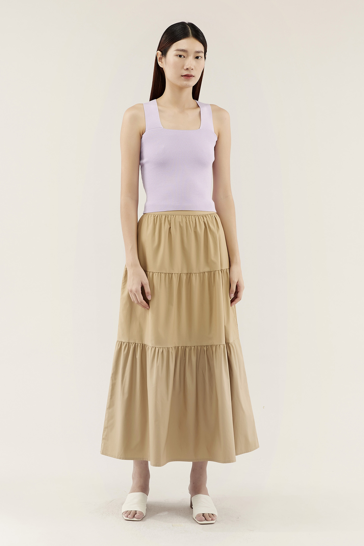 Karleah Tiered Skirt