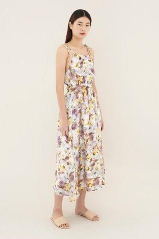 Taleesa Gathered-waist Dress