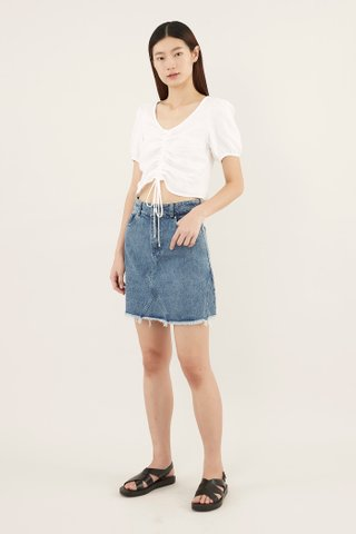Liona Denim Mini Skirt