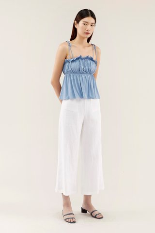 Daevon Frill-trim Top