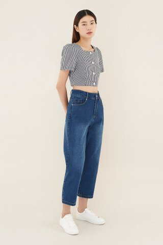 Lissie Square-neck Crop Top