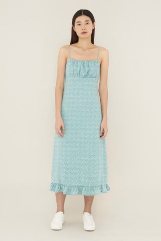 Lanelle Ruched-panel Dress