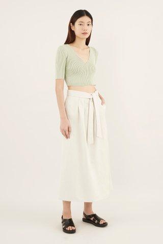 Zelene Drape Pants