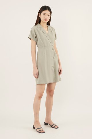 Jalene Collared Dress