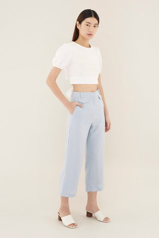 Olaya Double Flap Trousers