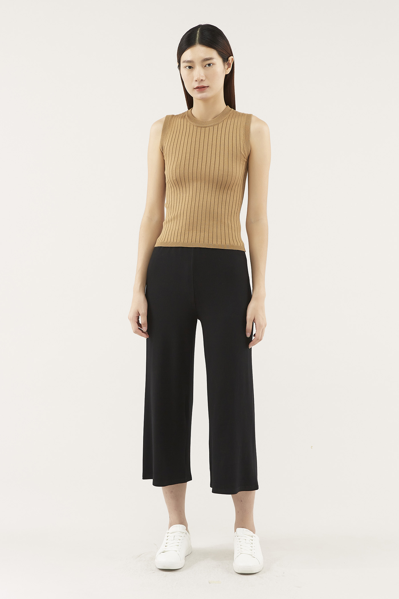 Givon Ribbed Knit Top