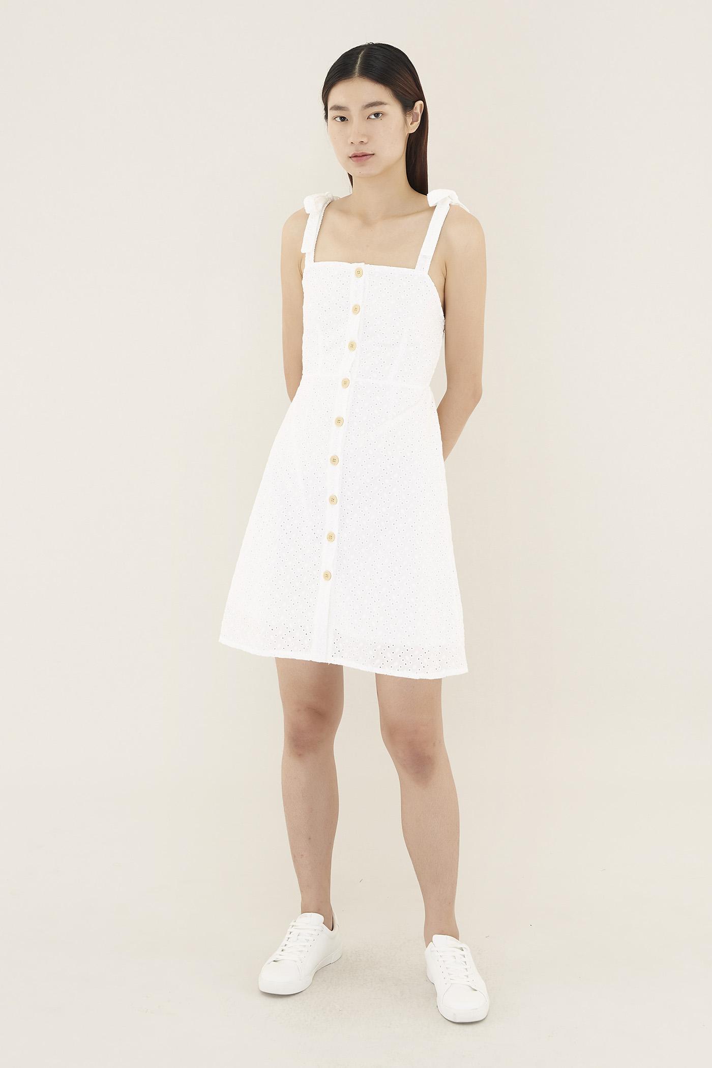 Lisanne Broderie Mini Dress