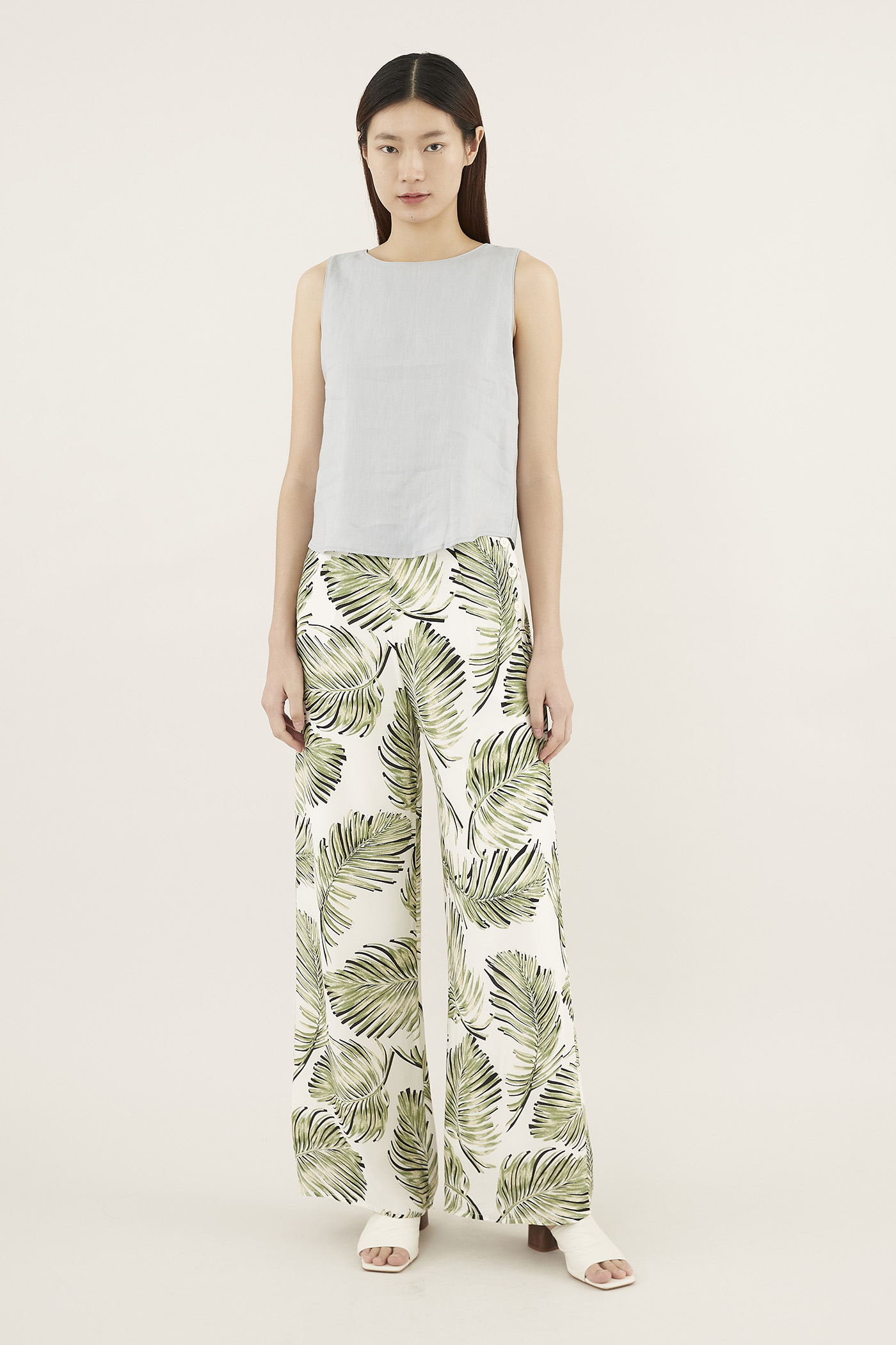 Jenise Side-button Pants