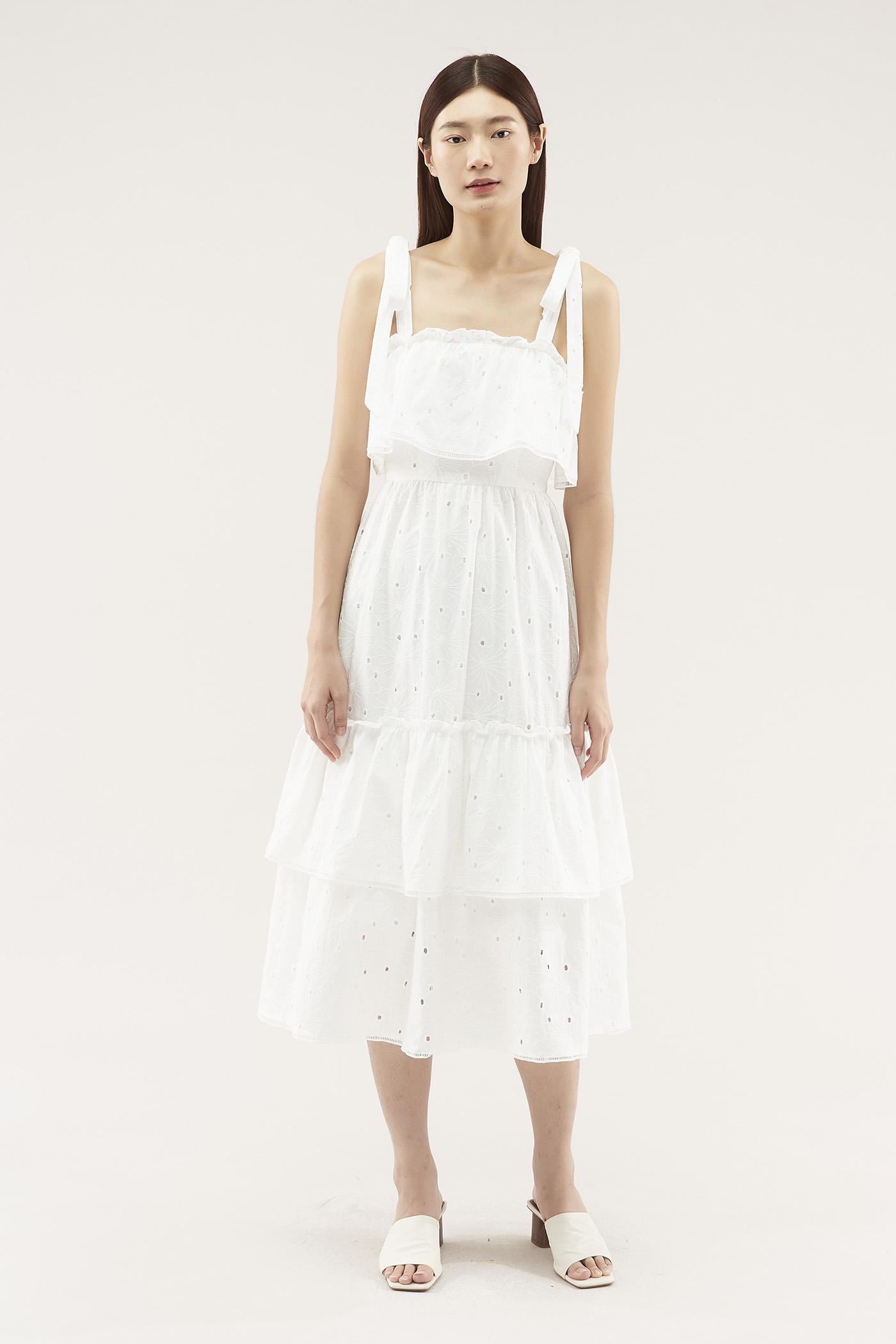 Calida Tiered Dress