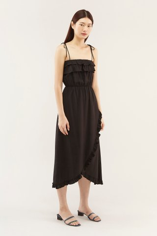 Rianne Frill-trim Dress