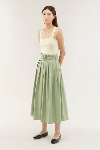 Ariyah Pleated Skirt