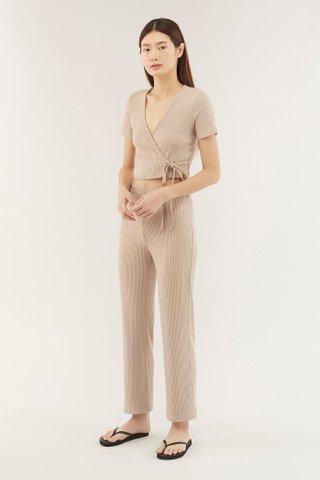 Zelma Ribbed Pants