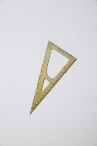 Monograph Triangle Ruler