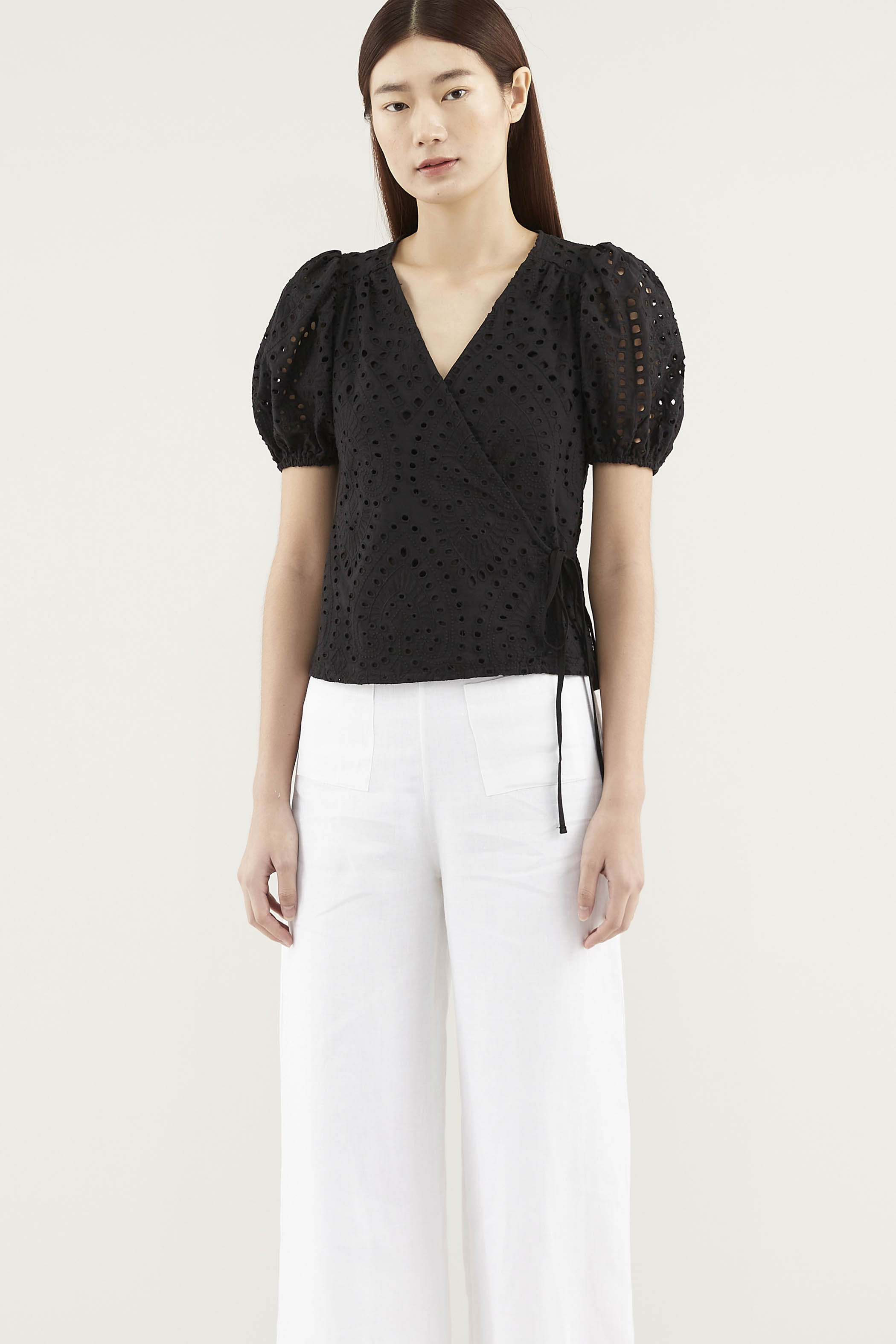 Dallace Wrap Blouse
