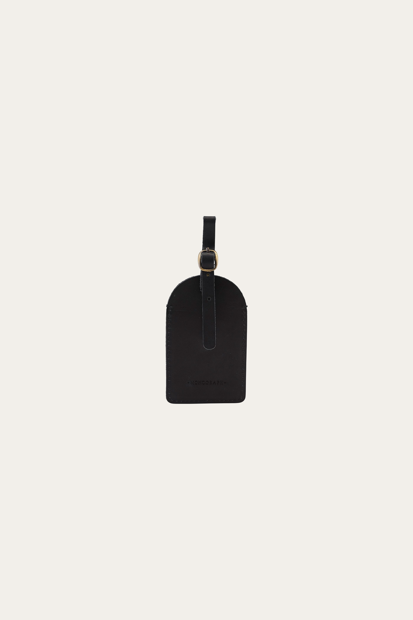 Monograph Suitcase Tag