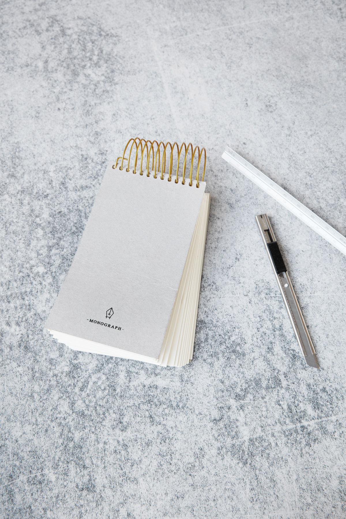 Monograph Slim Notepad