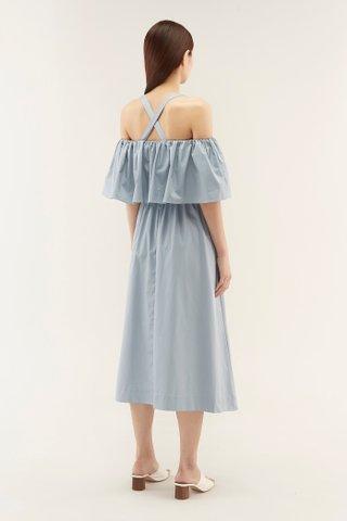 Lowena Cross-back Dress