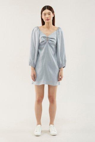 Mareeca Puff-sleeve Dress