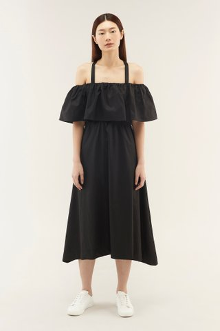 Lowena Cross-back Dress
