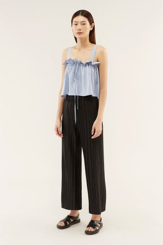 Dearon Gathered Crop Top