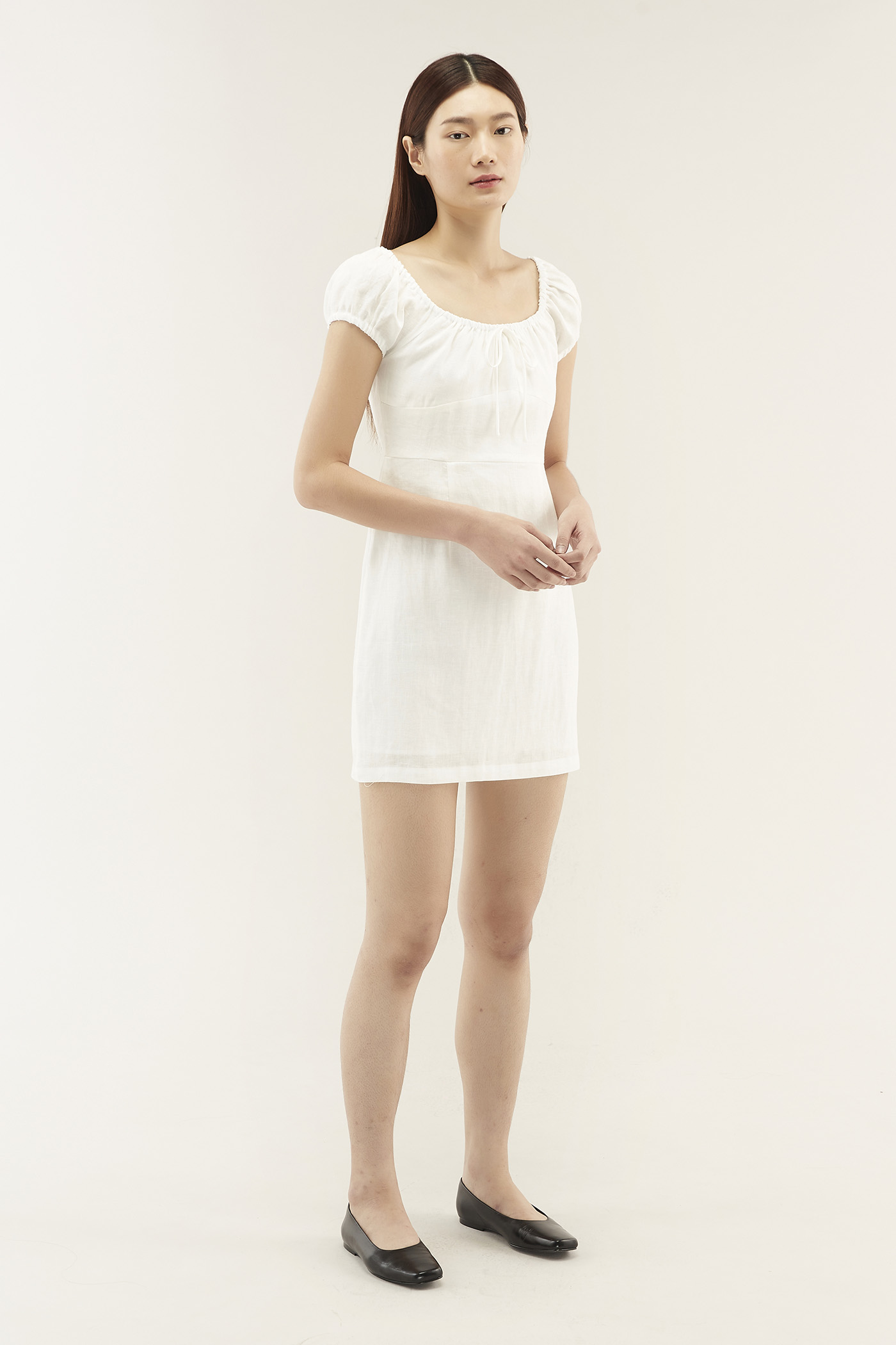 Verena Linen Mini Dress