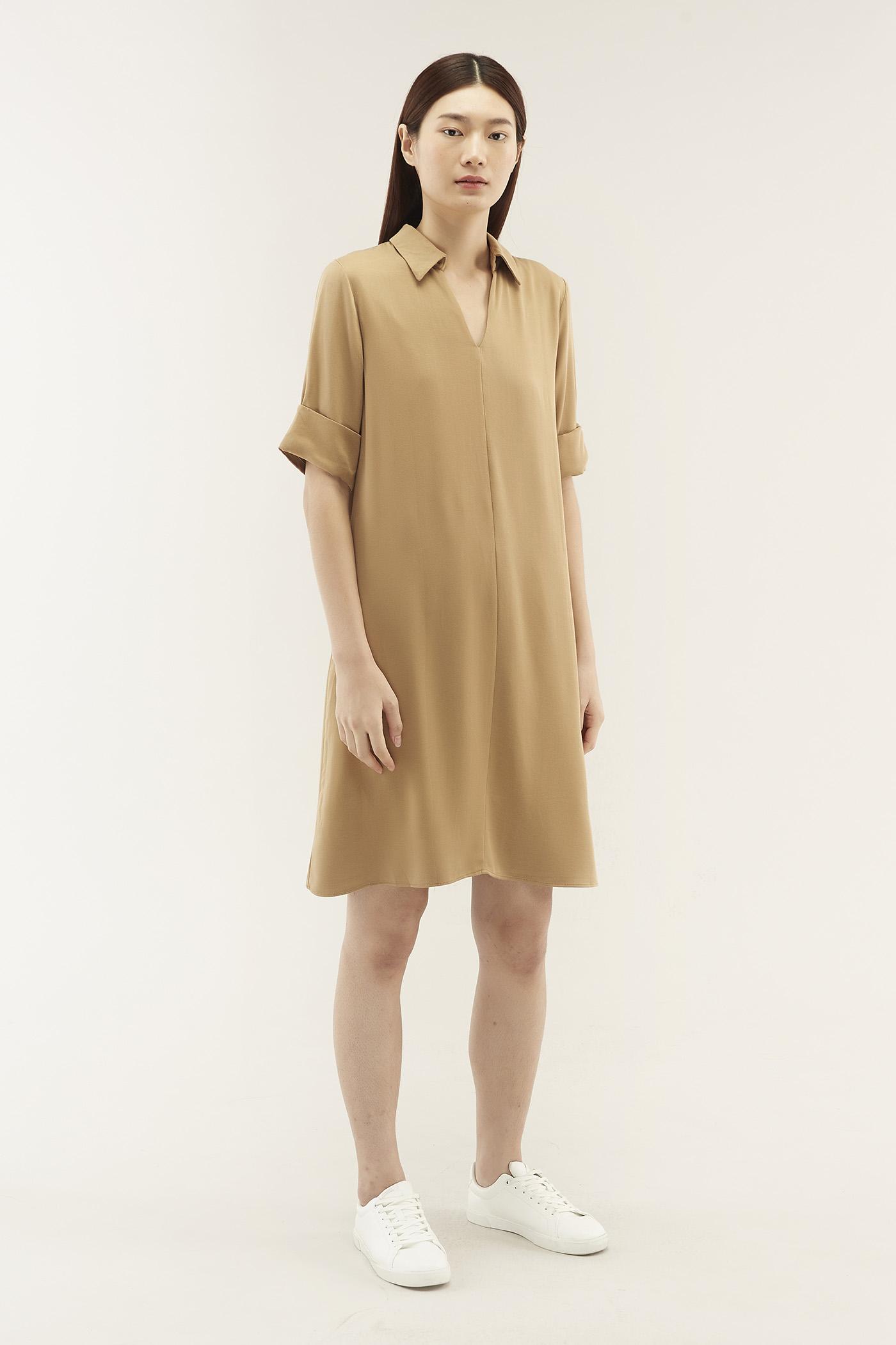 Hayden Collared Dress