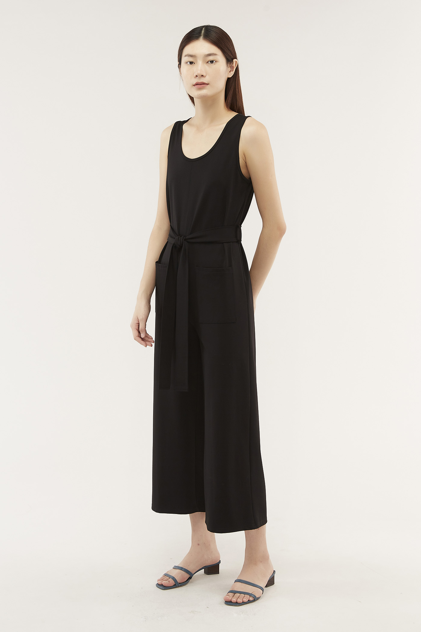 Yetta Patch-pocket Jumpsuit