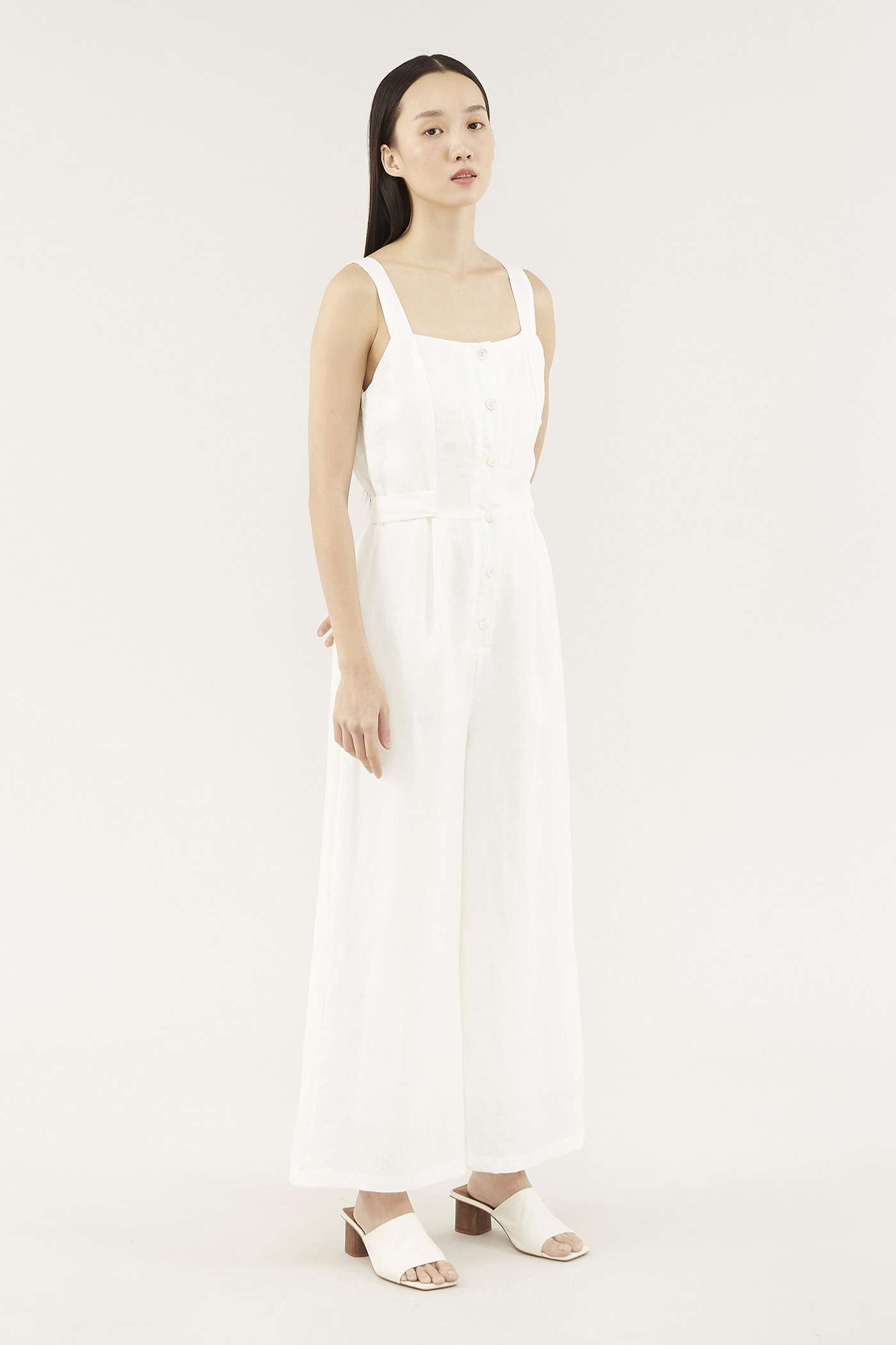Kalle Button-through Jumpsuit