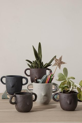 Ferm Living Mus Large Plant Pot
