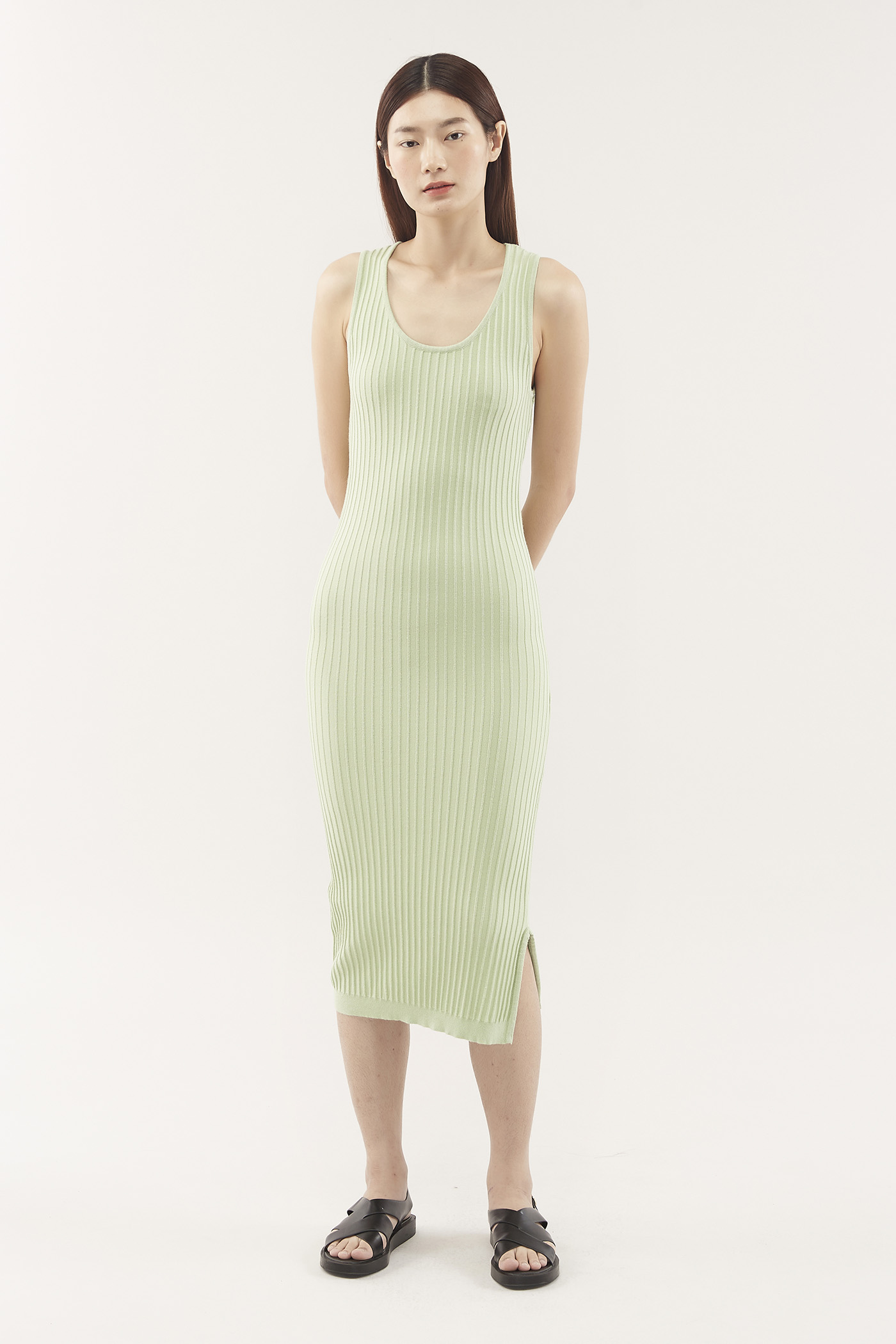 Yoana Ribbed Dress