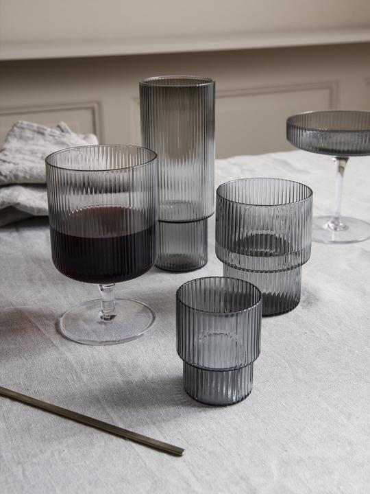 Ferm Living Ripple Wine Glass Set
