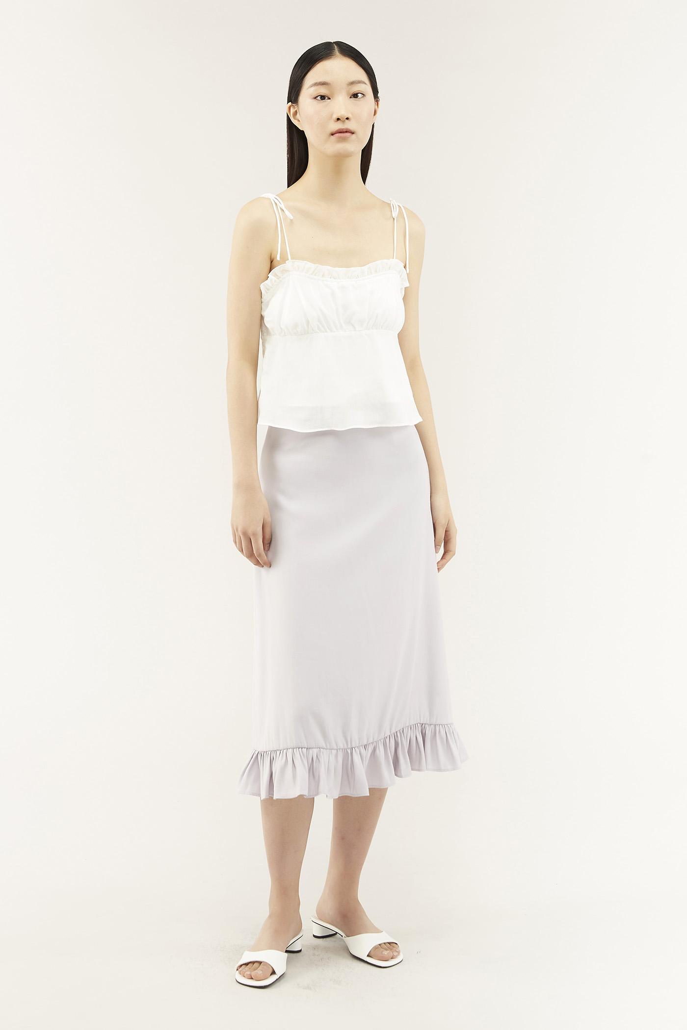 Lavone Frill-trim Skirt