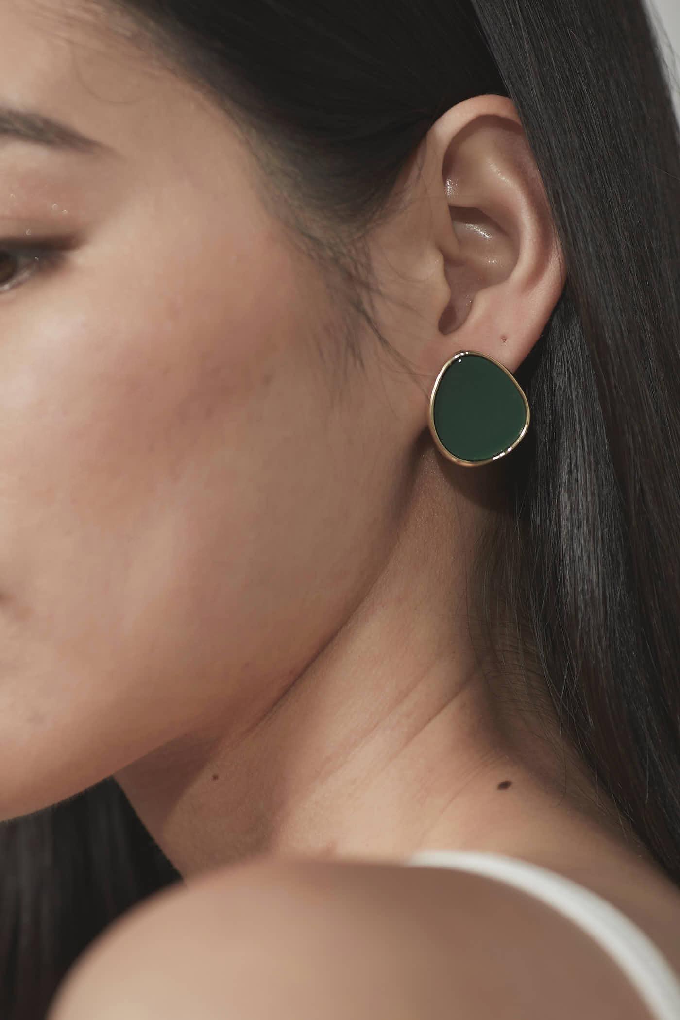Raven Ear Studs