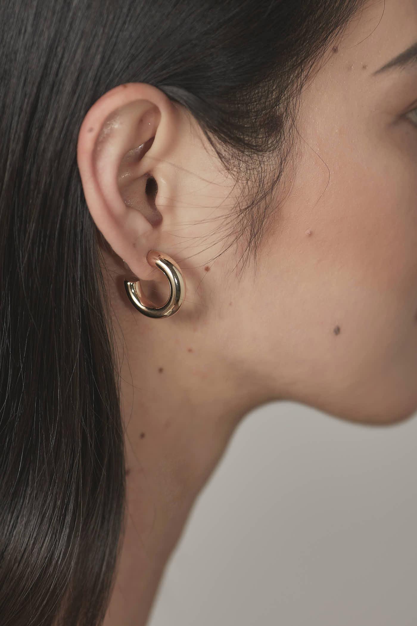 Athena Hoop Earrings