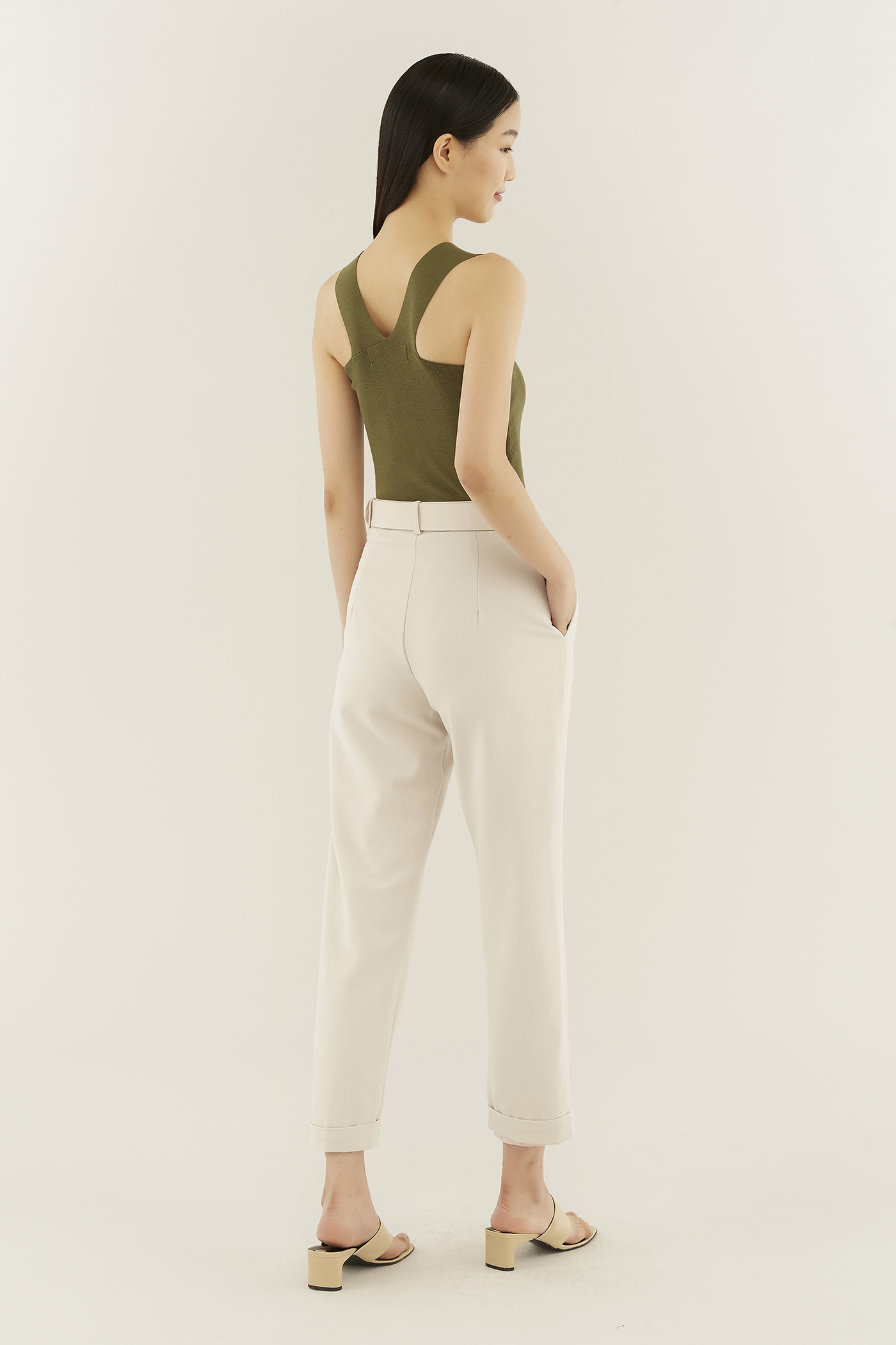 Lucita Square-neck Top