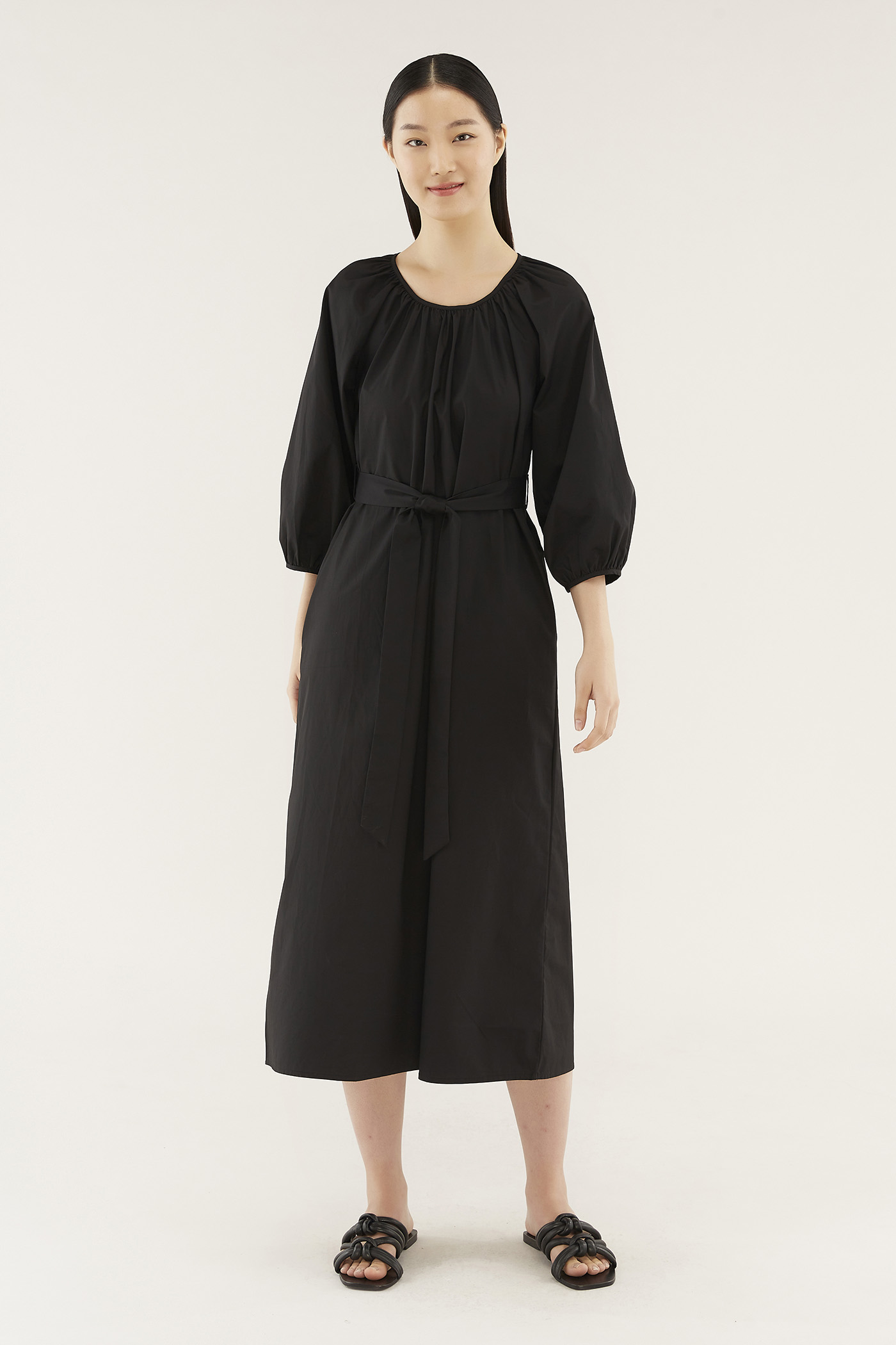 Weslee Long-sleeve Dress